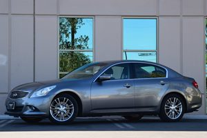 2012 Infiniti G37 Sedan Journey Carfax 1-Owner Air Conditioning  AC Air Conditioning  Climate