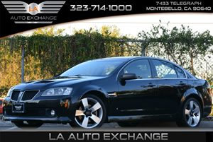 2009 Pontiac G8 GT Carfax Report - No Accidents  Damage Reported to CARFAX Air Conditioning  A