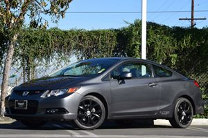 2012 Honda Civic Cpe Si Carfax 1-Owner - No Accidents  Damage Reported to CARFAX  Polished Met