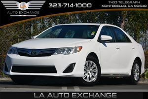 2013 Toyota Camry L Carfax Report 3-Point Seat Belts -Inc Emergency Locking Retractors Elr Au