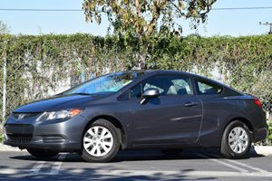 2012 Honda Civic Cpe LX Carfax 1-Owner - No Accidents  Damage Reported to CARFAX 2-Speed Intermi