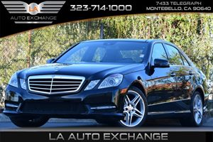 2013 MERCEDES E350 Luxury Sedan Carfax 1-Owner 4-Wheel Anti-Lock Braking System Abs WBrake Ass