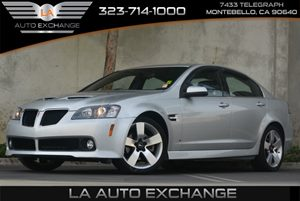 2009 Pontiac G8 GT Carfax 1-Owner - No Accidents  Damage Reported to CARFAX Audio  Auxiliary Au