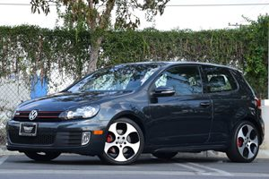 2012 Volkswagen GTI wConv  Sunroof PZEV Carfax 1-Owner 22540R18 All-Season Tires Adjustable I