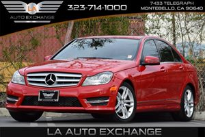 2013 MERCEDES C250 Luxury Sedan Carfax 1-Owner - No Accidents  Damage Reported to CARFAX Auto Ha