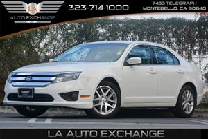2012 Ford Fusion SEL Carfax 1-Owner - No Accidents  Damage Reported to CARFAX Audio  Auxiliary