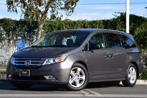 2012 Honda Odyssey Touring Carfax 1-Owner Air Conditioning  AC Air Conditioning  Climate Cont