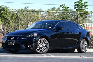 2014 Lexus IS 250  Carfax 1-Owner 4-Wheel Disc Brakes W4-Wheel Abs Front Vented Discs Brake As