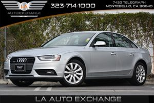 2013 Audi A4 Premium Carfax 1-Owner - No Accidents  Damage Reported to CARFAX Audio  AmFm Ster