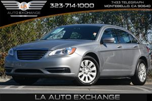 2014 Chrysler 200 LX Carfax 1-Owner - No Accidents  Damage Reported to CARFAX 5 Person Seating C