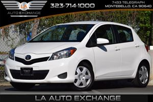 2014 Toyota Yaris L Carfax Report Air Conditioning  AC Audio  AmFm Stereo Audio  Auxiliary