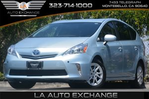 2012 Toyota Prius V Hybrid Carfax 1-Owner Air Conditioning  AC Audio  AmFm Stereo Audio  A