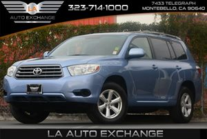 2009 Toyota Highlander Base Carfax Report - No Accidents  Damage Reported to CARFAX 3-Row Roll-S
