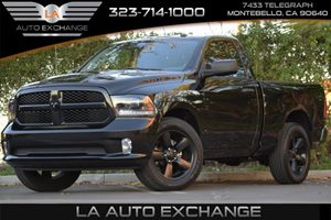 2015 Ram 1500 Express Carfax 1-Owner - No Accidents  Damage Reported to CARFAX 160 Amp Alternato