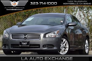 2014 Nissan Maxima 35 S Carfax 1-Owner - No Accidents  Damage Reported to CARFAX 5 Person Seati