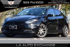2014 Dodge Dart SXT Carfax 1-Owner - No Accidents  Damage Reported to CARFAX  Pitch Black Clea