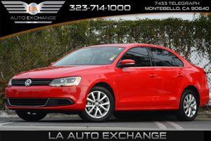 2013 Volkswagen Jetta Sedan SE wConvenienceSunroof Carfax 1-Owner 3-Point Safety Belts In All S