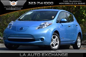 2012 Nissan LEAF ZERO EMISSION Carfax 1-Owner - No Accidents  Damage Reported to CARFAX 24 Kwh L
