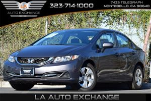 2014 Honda Civic Sedan LX Carfax 1-Owner - No Accidents  Damage Reported to CARFAX Convenience