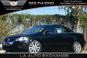 2011 Volkswagen Eos Komfort Carfax Report - No Accidents  Damage Reported to CARFAX Air Conditio