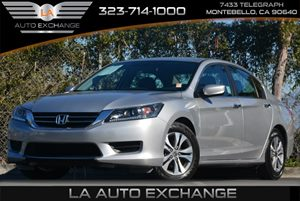 2013 Honda Accord Cpe LX-S Carfax 1-Owner - No Accidents  Damage Reported to CARFAX Air Conditio