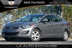 2014 Hyundai Elantra  Carfax 1-Owner - No Accidents  Damage Reported to CARFAX Airbag Occupancy