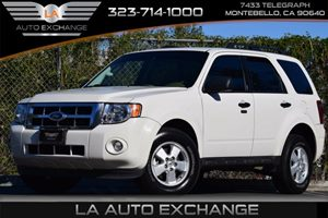 2012 Ford Escape XLT Carfax 1-Owner 4-Wheel Anti-Lock Brakes 4-Wheel Drive Air Conditioning  A