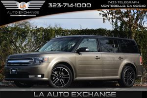 2013 Ford Flex SEL Carfax Report 4-Way Adjustable Head Restraints Air Conditioning  AC Audio