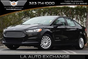 2014 Ford Fusion S Hybrid Carfax 1-Owner 5 Person Seating Capacity Air Conditioning  AC Audio