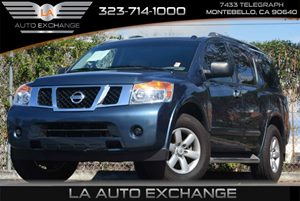 2014 Nissan Armada SV Carfax 1-Owner Air Conditioning  Climate Control Air Conditioning  Multi