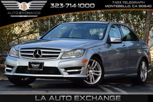 2013 MERCEDES C250 Luxury Sedan Carfax 1-Owner 58 Central Controller Display WRetractable Cov