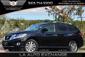 2015 Nissan Pathfinder SL Carfax 1-Owner Air Conditioning  AC Audio  AmFm Stereo Audio  Au