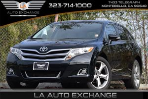 2013 Toyota Venza LE Carfax 1-Owner  Attitude Black 25492 Per Month -ON APPROVED CREDIT--