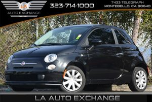 2012 FIAT 500 Pop Carfax 1-Owner - No Accidents  Damage Reported to CARFAX 105-Amp Alternator C
