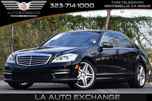 2011 MERCEDES S63 AMG Carfax Report 7-Speed Automatic Transmission -Inc Amg Speedshift Touch Sh