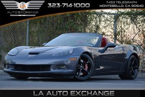 2013 Chevrolet Corvette Grand Sport 3LT Carfax 1-Owner - No Accidents  Damage Reported to CARFAX