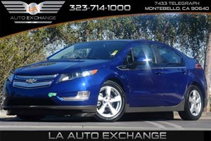 2013 Chevrolet Volt  Carfax 1-Owner - No Accidents  Damage Reported to CARFAX Audio  AmFm Ster
