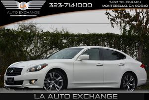 2013 Infiniti M37  Carfax 1-Owner Air Conditioning  AC Audio  AmFm Stereo Audio  Auxiliary