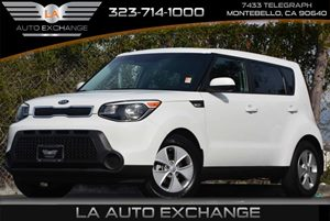 2014 Kia Soul Base Carfax 1-Owner 5 Person Seating Capacity 90 Amp Alternator Airbag Occupancy