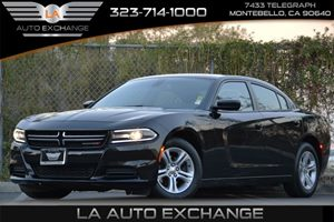 2015 Dodge Charger SE Carfax 1-Owner 160 Amp Alternator 185 Gal Fuel Tank 5 Person Seating Ca