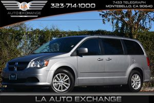2014 Dodge Grand Caravan SXT FLEX FUEL Carfax 1-Owner - No Accidents  Damage Reported to CARFAX
