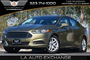 2013 Ford Fusion SE Carfax 1-Owner - No Accidents  Damage Reported to CARFAX Advancetrac Esc W