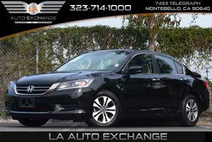 2013 Honda Accord Sdn LX Carfax 1-Owner - No Accidents  Damage Reported to CARFAX 8 Multi-Info