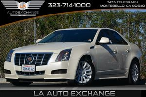 2013 Cadillac CTS Sedan Luxury Carfax 1-Owner Air Conditioning  Multi-Zone AC Audio  Auxiliar