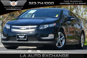 2012 Chevrolet Volt  Carfax 1-Owner - No Accidents  Damage Reported to CARFAX  Black 20295