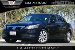 2012 Honda Accord Sdn EX Carfax Report Brake Assist Convenience  Adjustable Steering Wheel Con
