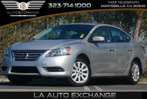 2014 Nissan Sentra S Carfax 1-Owner - No Accidents  Damage Reported to CARFAX Aero-Composite Hal