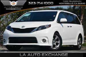 2014 Toyota Sienna SE Carfax 1-Owner - No Accidents  Damage Reported to CARFAX 6 Cylinders Air