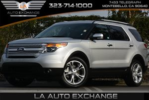 2015 Ford Explorer Limited Carfax 1-Owner - No Accidents  Damage Reported to CARFAX 7 Person Sea