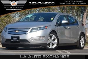 2013 Chevrolet Volt  Carfax 1-Owner Convenience  Adjustable Steering Wheel Convenience  Automa